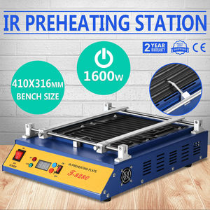 Image 3 - 1600W IR PCB Infrared Preheater BGA Rework Preheating Station T 8280 European Counties Free Shipping