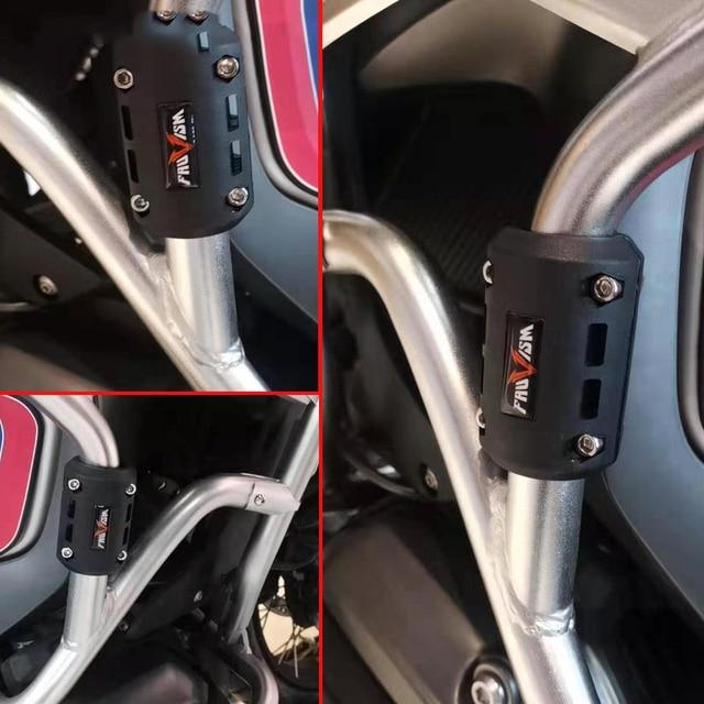 Barra parachoques para motocicleta parachoques protección del motor bloques 22-25-28mm para Yamaha Tenere 700 YZF R120 MXT850 Niken WR250F MT125