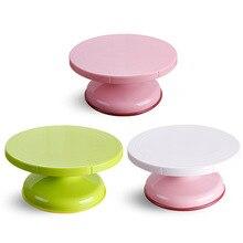 цена на Anti-slogan for decorating revolving cakes Plastic revolving cakes Round table cake baking kitchen