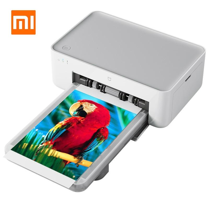 New Xiaomi Mijia Mi Photo Printer Heat Sublimation Finely Restore True Color Auto Multiple Wireless WIFI Remote Portable Printer