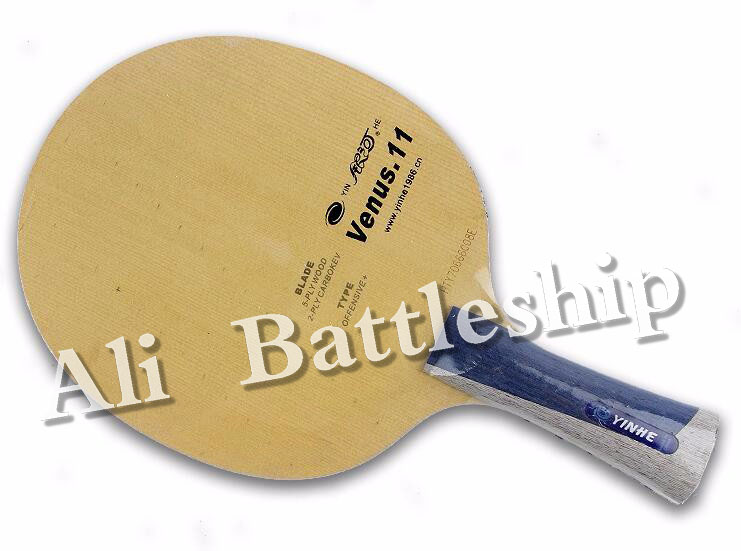 Yinhe V11 Venus 11 (V11, V 11, V-11) Blue Aryl Carbon Table Tennis Carbon Pingpong Blade