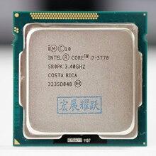 Intel Core i7 3770 I7 3770 מעבד מעבד LGA 1155 100% עבודה כראוי שולחן העבודה מעבד
