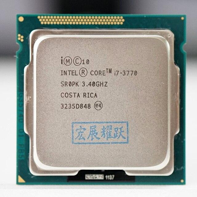 Intel Core  i7 3770 I7 3770  Processor cpu LGA 1155  100% working properly Desktop Processor