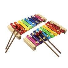 [Прямые продажи от производителя] Деревянные игрушки для фортепиано для младенцев, мультяшная игрушка для фортепиано, игрушка из стального листа, игрушка для фортепиано