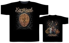 Korpiklaani Shaman Drum Shirt S 3Xl Folk Metal Tshirt Official Male Designing T Shirt Top Tee Novelty O Neck Tops