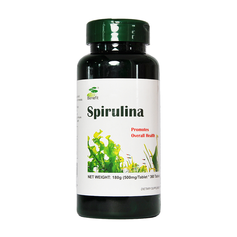 Rich In Protein Multi Vitamins Spirulina Tablet For Promote Overall Health Good Immune Anti-Fatigue