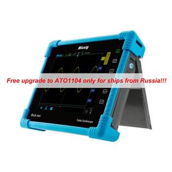 Micsig Digital Tablet Oscilloscope 100MHz 2CH 4CH handheld oscilloscope automotive scopemeter oscilloscope osciloscopio TO1000 фото