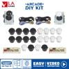 Diy Arcade Game Kit 2 Player Zero Delay Encoder USB to PC/PS3/Andriod/Raspberry Pi Sanwa Arcade Button Arcade Joystick 5Pin 8Way