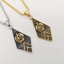 Black Knight Bling Bling stainless steel Masonic Free Mason Freemasonry Free and Accepted Crystal Pendants Necklace BLKN0774 брюки free knight 1006