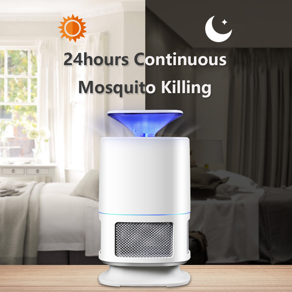 Efficiency LED Mosquito Killer Lamp USB Light Trap LED Light Pest Control Electric Anti Fly Bug Insect Repellent Light