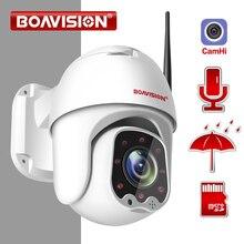 1080P Беспроводная Мини PTZ IP wifi камера скорость купольная 2MP CCTV ip камера безопасности ONVIF Открытый ИК 30 м двухстороннее аудио P2P приложение CamHi