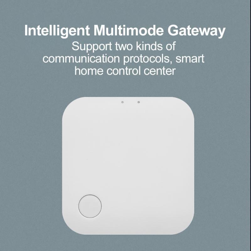 Умный шлюз Tuya Zigbee + Wi-Fi, многофункциональное устройство связи, центральное управление, умный шлюз для умного дома