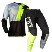 Gratis Pengiriman 2020 Nakal Fox 180 Lovl Se Gear Set Celana Jersey Street Moto Rider Suit Motocross Race Kit(China)