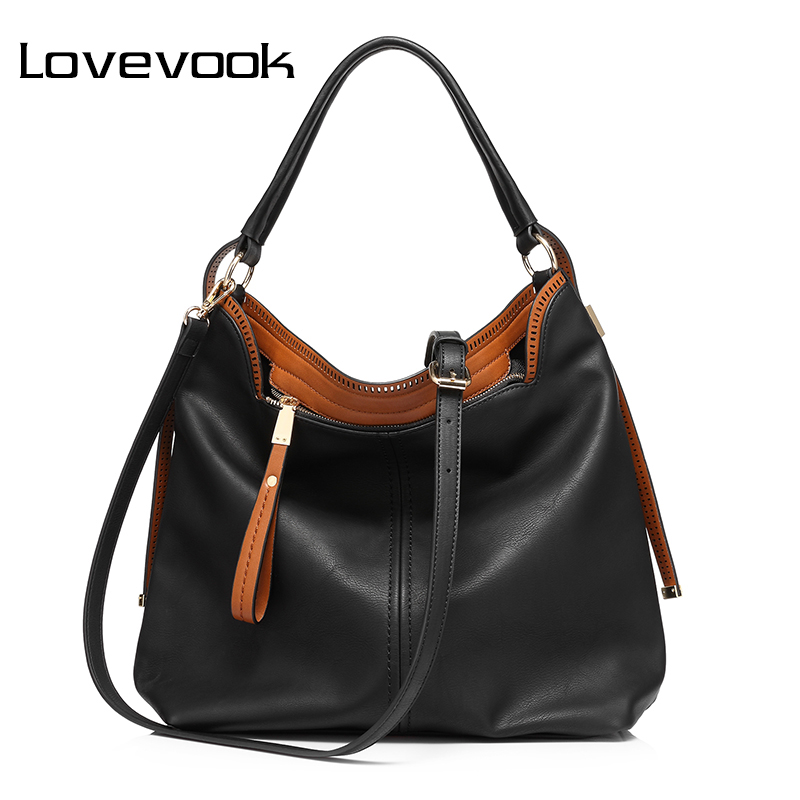 LOVEVOOK Handbag Women Shoulder Crossbody Bag Female Pures And Handbags Big Hobos Tote Bag For Women 2018