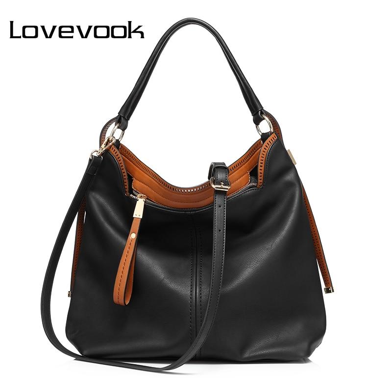 LOVEVOOK Handbag Women Shoulder Crossbody Bag Female Pures And Handbags Big Hobos Tote Bag For Women 2018