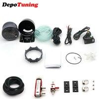 DepoTuning 60MM Car Turbo Boost gauge 2BAR + Adjustable Turbo Boost Controller Kit 1 30 PSI Car Meter Combination