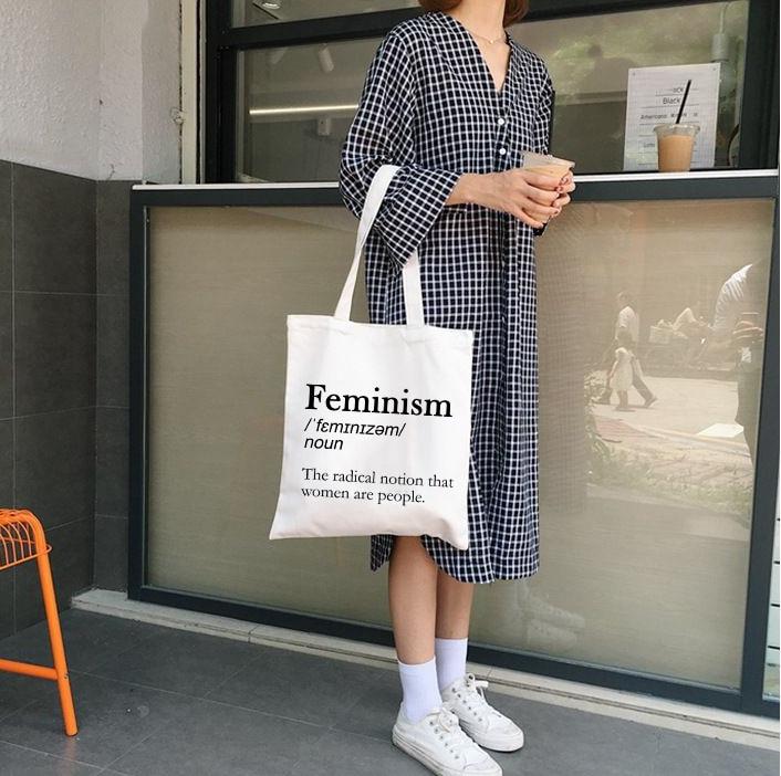 2019 Women Canvas Bags Shopping Eco Reusable Foldable Shoulder Bag Handbag Totebag Fashion Casual School Student Shoulder Bags