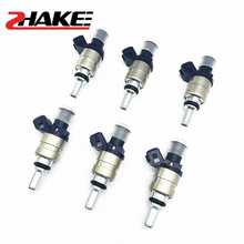 6x 1439800 Fuel Injector For B-M E46 E39 X3 Z3 Z4 3 5 SERIES VALVES 13537546244 Car Engine Nozzle Injection Injector new fuel injector 4089277 for 6ct 8 3 engine