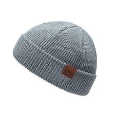 Зимняя шапка для мужчин повседневные короткие шапки взрослых