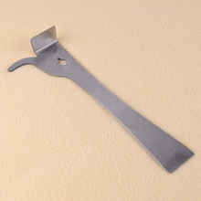 Stainless Steel Bee Hive Scraper Claw Pry Beekeeping Tool Silver for Beekeeper Leveraging Sub-cover