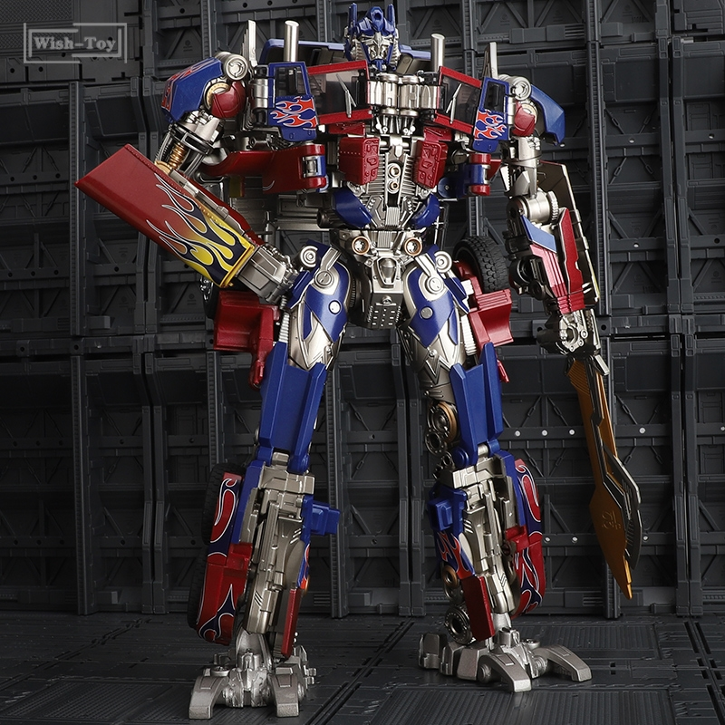 WJ Transformation Masterpiece OP Commander Movie Studio Series Leader 29CM SS05 SS-05 Alloy <font><b>MPM04</b></font> Action Figure Robot Gift Toys image