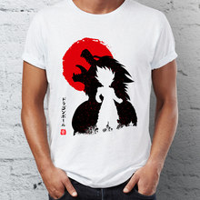 Men's T Awakening of the Monster Inside Goku Oozaru Shirt Dragon Ball Badass Street Guys Tops & Tees Swag 100% Cotton Camiseta(China)