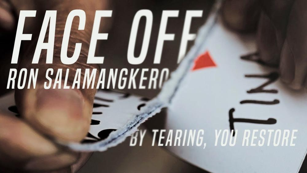 Face Off By Ron Salamangkero,Magic Tricks