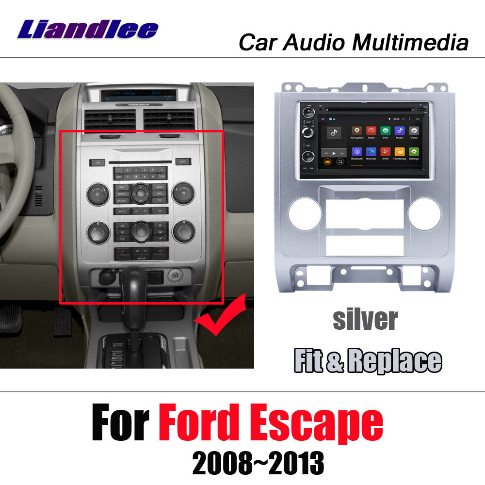Liandlee Android 7.1 UP For <font><b>Ford</b></font> <font><b>Escape</b></font> 2008~2013 Car Stereo Screen Video BT DVD Carplay Map <font><b>GPS</b></font> Navi Navigation Multimedia image