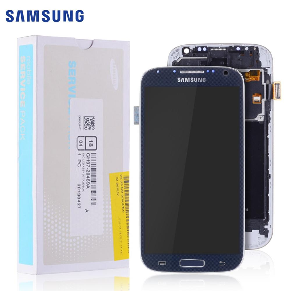 LCD For SAMSUNG S4 Display LCD Touch Screen Digitizer For SAMSUNG Galaxy S4 LCD Display GT-i9505 I9500 I9505 Blue White