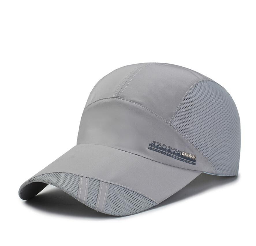 LJ104 Sommer Männer Frauen Sonnenblende Baseball Kappe Hut Einfarbig Mode Einstellbar Kappen