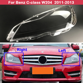 Front Car lampshade Headlight Cover for Mercedes-Benz C-class W204 2011 2012 2013 1698206710 for mercedes benz a b class w169 2004 2012 w245 2005 2011 front left electric power master window switch