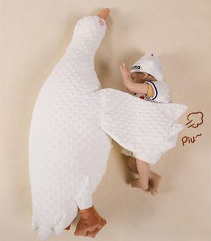 Poduszka wydechu dla niemowląt noworodki bezpieczeństwo produkty do pielęgnacji zdrowia kolka komfort relief kojący groch aksamitna śliczna pluszowa lalka miękka zabawka tanie i dobre opinie Unisex CN (pochodzenie) W wieku 0-6m