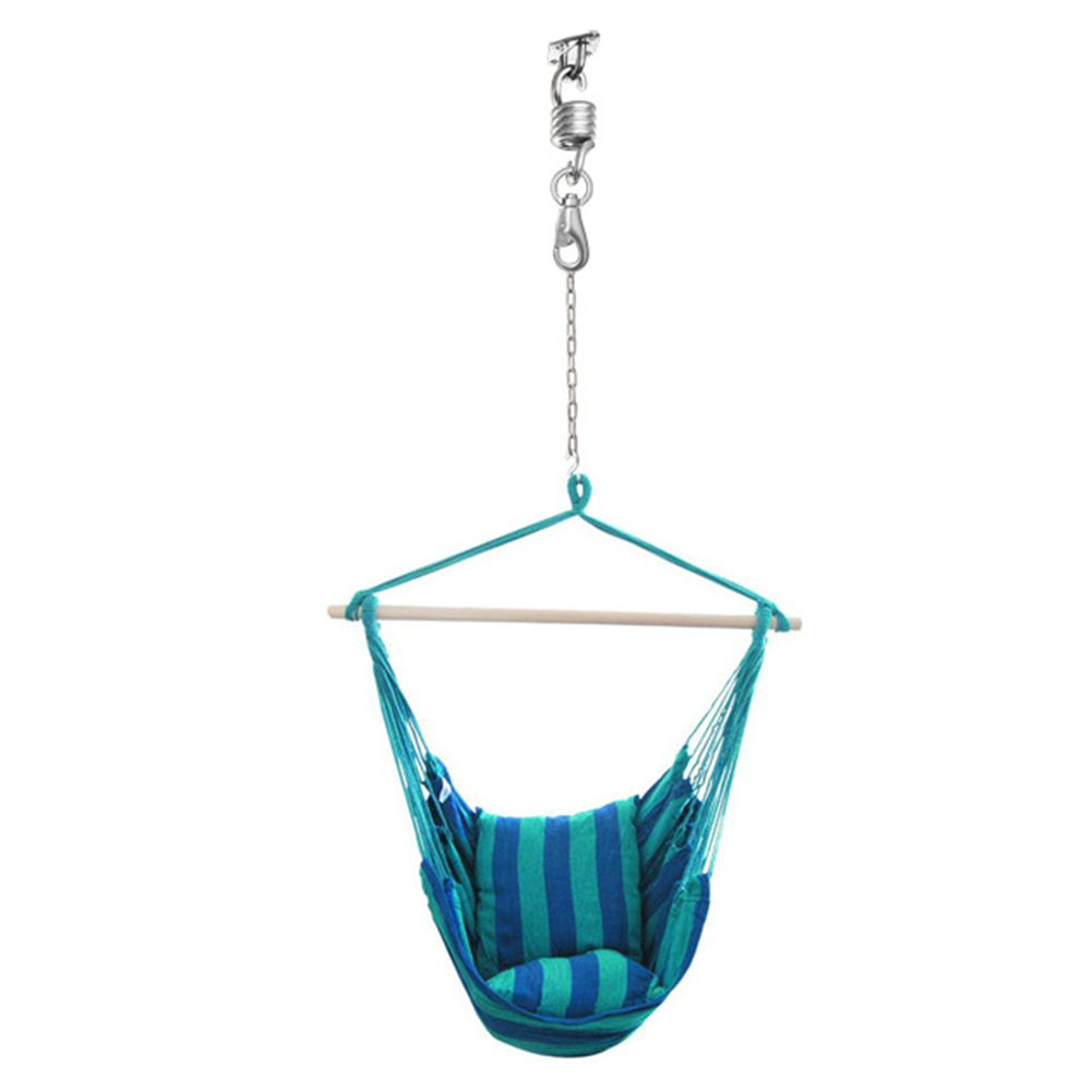 Swivel-Hook Hammock Stainless-Steel Hanging-Kit Outdoor Large with Screws Load-Capacity