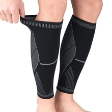 1pcs Running Athletics Compression Sleeves Leg Calf Shin Splints Elbow Knee Pads Protection Sports Safety Unisex