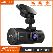 Vantrue N2 Pro Car Dual Dash Cam HD 1080P for Car DVR Video Recorder Dash Camera 1440P Night Vision GPS WDR Parking Mode Dashcam