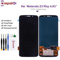 LCD Screen For Motorola Moto Z3 Play LCD Display Touch Screen whit Digitizer Assembly Replacement Parts For Moto XT1929 LCD