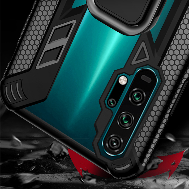 KEYSION Shockproof Case For Honor 20 Pro 10i 10 Lite 8X 8A 5T Phone Cover for Huawei Mate 30 Pro P40 P30 Lite Y6 Y7 Y9 2019 Y9S 5