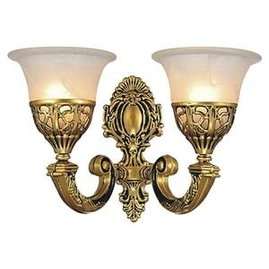 Image 3 - European Vintage Wall Lamp Retro Led Wall Light Living Room Home E27 Sconce Lamps Metal Bar Corridor Lighting Indoor Decoration