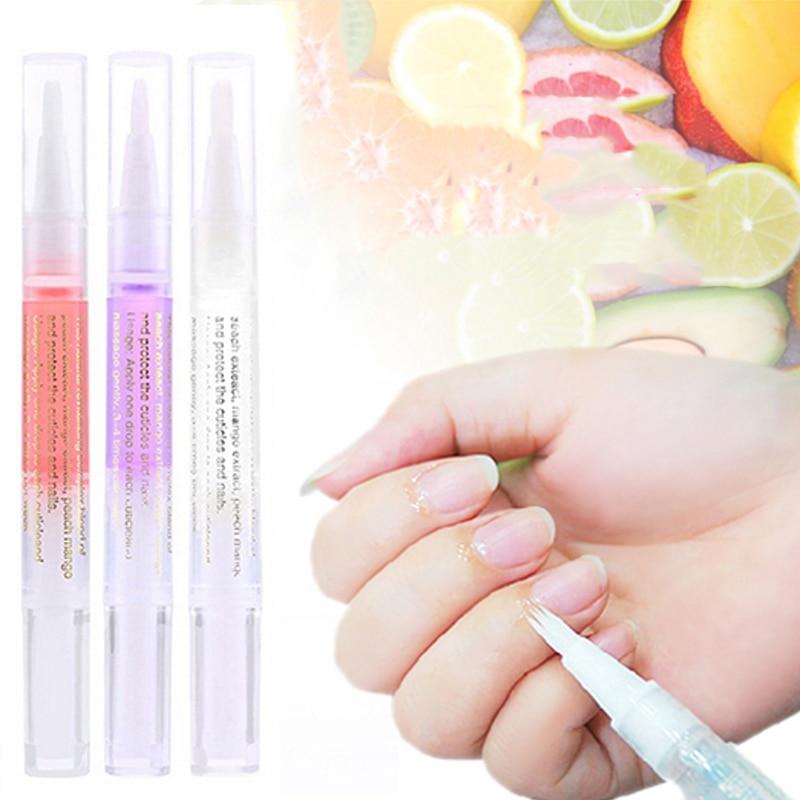 Nail Nutrition Oil Pen Nail Treatment Cuticle Revitalizer Oil Prevent Agnail Nail Polish Nourish Skin Protector TSLM1