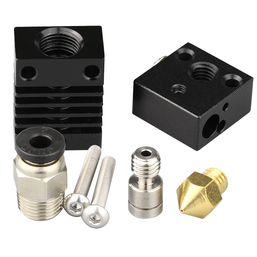 cheapest 4max pro Updated Hotend kit V5 J-head for ANYCUBIC 4max pro 3D printer