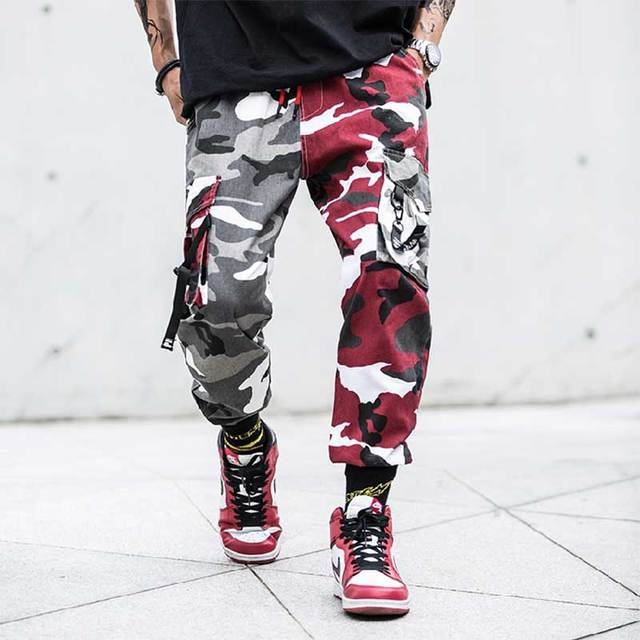 New Joggers Cargo Pants Men Streetwear Camouflage Fashions Hip Hip Korean Trousers Casual Plus Size Cp Pants Pantalones Hombre 35
