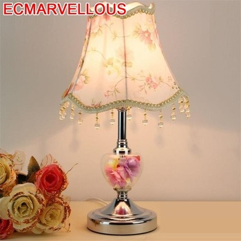 Bed Tafellamp Candeeiro Lampe Chevet Chambre Lampara El Dormitorio Luminaria De Mesa Deco Abajur Para Quarto Table Lamp
