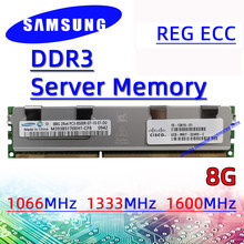 4GB 32GB Samsung Server Memory REG ECC ddr3 8GB 1066MHz 1333MHz 1600MHz 1866MHz RAM PC3 16GB 8500R 10600R 12800R 14900R