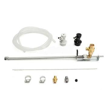 Stainless Steel Beer Gun CO2 Bottle Filler Homebrew Kegging Kits With Ball Lock Connector