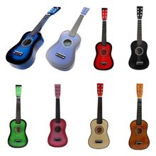 Stringed-Instrument Acoustic Mini Guitar 1st-String Musical-Toy Basswood Plectrum