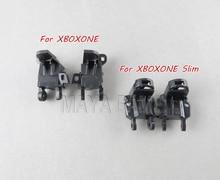 100 conjuntos para xboxone s fino controlador direita esquerda/rt lt suporte para xbox um botão de gatilho quadro ímã titular