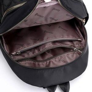 Image 5 - Vento Marea 여행 여성 배낭 캐주얼 방수 청소년 레이디 가방 여성 대용량 여성용 어깨 가방 2019 Red Rucksack
