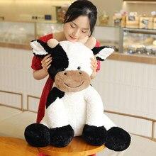 Jouet en peluche année 2020 vache pour enfant, mignon, animal en peluche, poupée douce, cadeau d'anniversaire