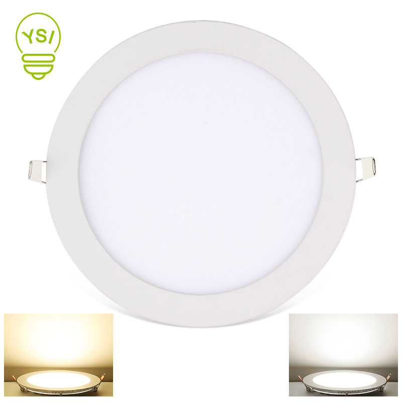 LED Panel Light 3W 4W 6W 9W 12W 15W 18W Ultra Thin Spot LED 220V 110V Round Recessed Spot Light Lamp For Living Room
