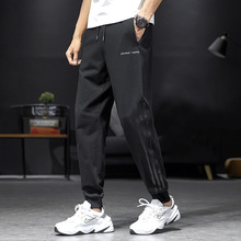 Pioneer Camp 2020 100%Cotton Jogger SweatPants Men Stripe Design Autumn Winter Causal Loose Oversized Men's Clothing AZZ0221156H